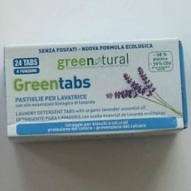 Green Tabs pastiglie lavatrice Greenatural