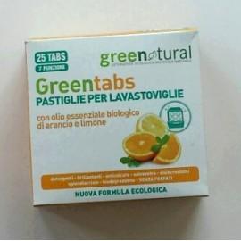 Green Tabs lavastoviglie -Greenatural