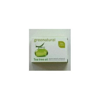 Saponetta Naturale al Tea Tree Oil-100G- GreeNatural