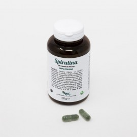 Spirulina 100 capsule 500 mg - Agroiniziative-