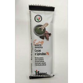 Barretta Cacao e Spirulina 7%  -Agroiniziative-