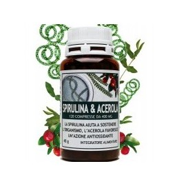 Spirulina & Acerola - 120 cpr - Salus in Erbis